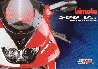 Bimota 500 V-Due Evo  (Italian/English) Page 1