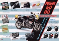Honda NSR50/80 factory accessories