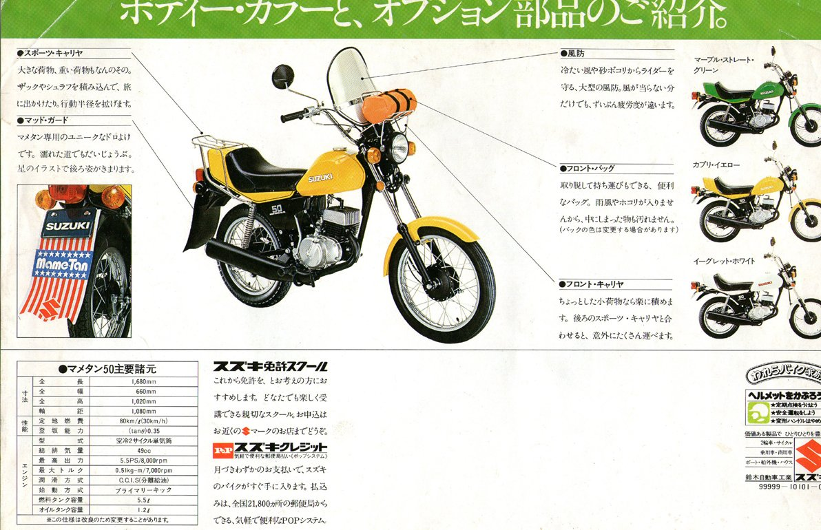 Suzuki OR50 Mame-Tan (Japan) Page 4