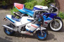 GSX-R750RK and RB50 Gag