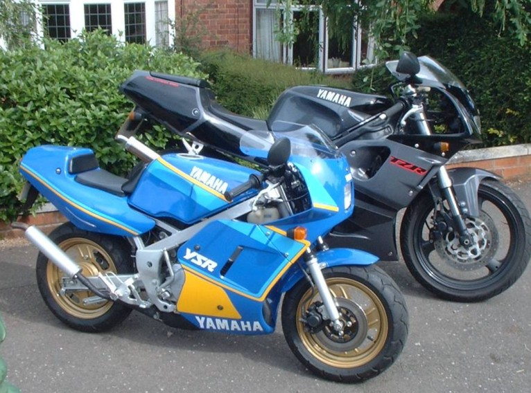 Yamaha YSR and TZR