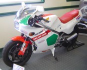 Andy's NS250R at Uttoxeter, Jul 2007